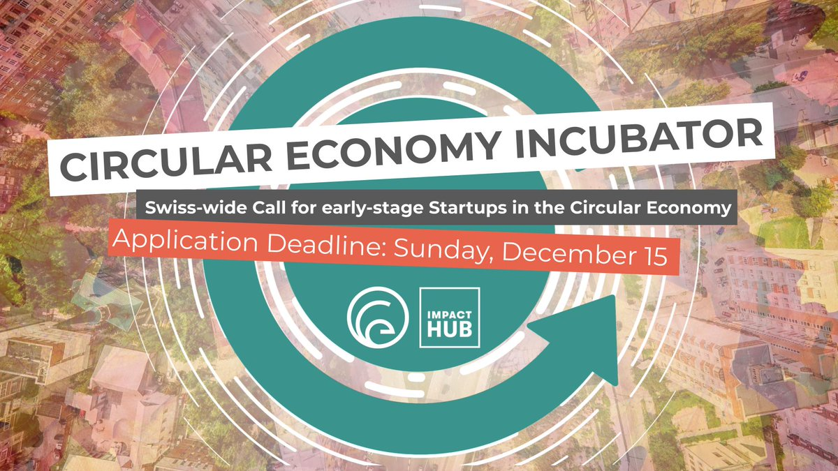 Deadline is 15 December! #circulareconomy