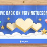 Image for the Tweet beginning: It's @GivingTuesday. Give more by