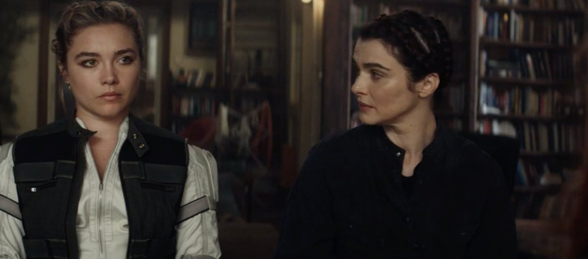 While filming, Rachel Weisz often forgot her lines.