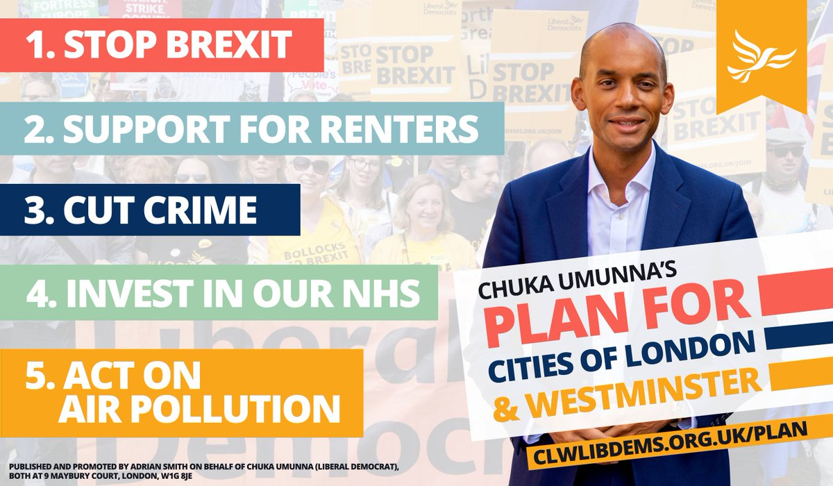 Part of my Plan for Cities of London & Westminster is for more support for renters - Help people who cannot afford a deposit with a new Rent to Own model. - Promote longer tenancies of three years or more to give families who rent stability and security. clwlibdems.org.uk/clw-plan