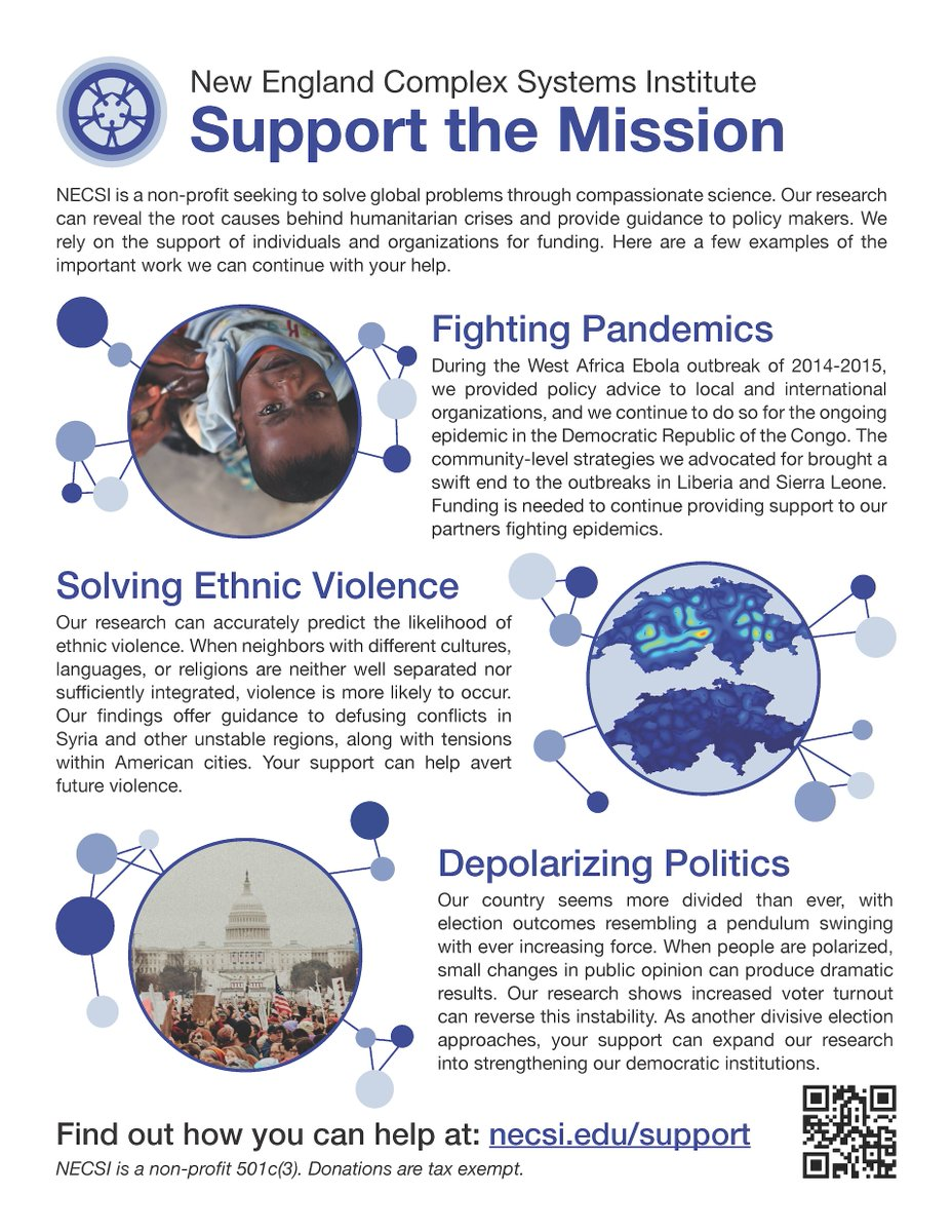 Support the mission: necsi.edu/support #givingtuesday