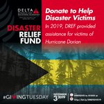 Image for the Tweet beginning: Today is #GivingTuesday. DREF supported