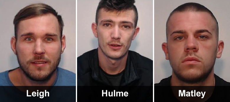 Three men have been jailed following a series of arson attacks after an ongoing criminal dispute involving the supply of cannabis.  https://crowd.in/mmTT8u