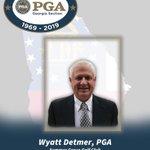 Image for the Tweet beginning: Congratulations PGA General Manager Wyatt