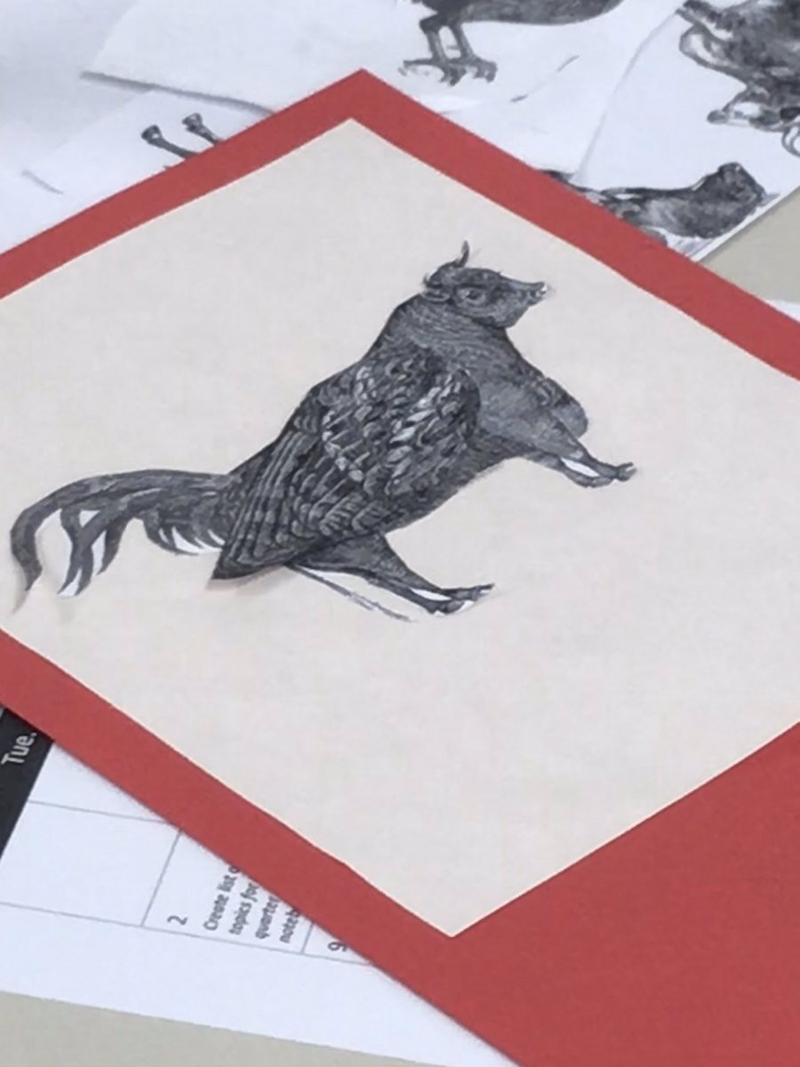 Art History <a target='_blank' href='http://twitter.com/HBWProgram'>@HBWProgram</a> <a target='_blank' href='http://twitter.com/APSArts'>@APSArts</a> studies The Medieval Bestiary & creates their own beasts <a target='_blank' href='http://search.twitter.com/search?q=loveHB'><a target='_blank' href='https://twitter.com/hashtag/loveHB?src=hash'>#loveHB</a></a> <a target='_blank' href='http://search.twitter.com/search?q=medieval'><a target='_blank' href='https://twitter.com/hashtag/medieval?src=hash'>#medieval</a></a> <a target='_blank' href='http://search.twitter.com/search?q=beasts'><a target='_blank' href='https://twitter.com/hashtag/beasts?src=hash'>#beasts</a></a> <a target='_blank' href='http://search.twitter.com/search?q=arthistory'><a target='_blank' href='https://twitter.com/hashtag/arthistory?src=hash'>#arthistory</a></a> <a target='_blank' href='https://t.co/CdDQ0IuoBw'>https://t.co/CdDQ0IuoBw</a>