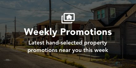 #weeklypromotions  Latest hand-selected bank-owned property promotions near you this week. https://t.co/VLVbCj4H9X https://t.co/AbprbL47LK