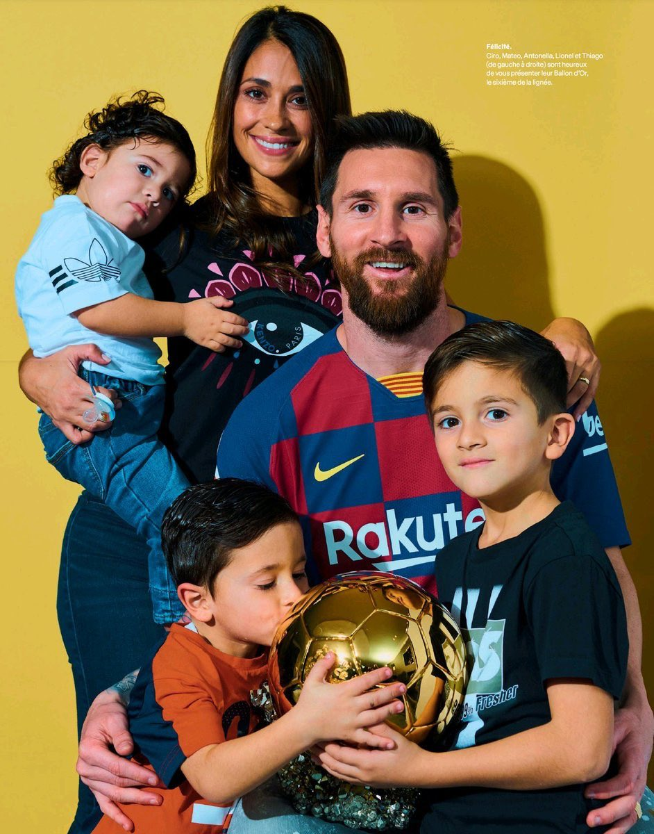 Family is everything.  #BallonDor #Messi <br>http://pic.twitter.com/sa5QsJSgDv