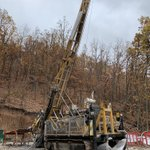 Image for the Tweet beginning: #Drilling programs are ongoing in