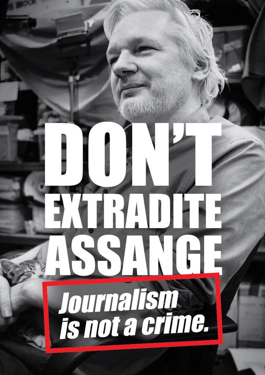 #FreeAssangeNOW #nousextradition #dontextraditeassange #wikileaks #assange #freeassange #humanrights #unitednations #AmnestyInternational #politicalprisoner #sometsetbean✊🏻http://somersetbean.com/free-assange/