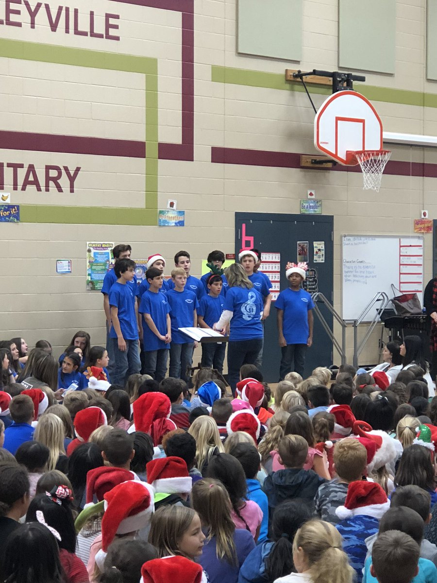 Loved having the CMS band and choir visit and perform for us today.  @CESCowboys @CmsColts #WeAreGCISD <br>http://pic.twitter.com/3LpoUKNGzY