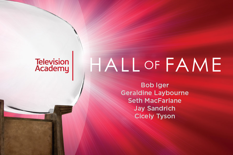 Congratulations to the members of the 25th Television Academy Hall of Fame Class: @RobertIger, @glaybourne, @SethMacFarlane, #JaySandrich and @IAmCicelyTyson! The five new members will be inducted into the Hall of Fame on January 28, 2020! https://t.co/DqWQ7p3vPa