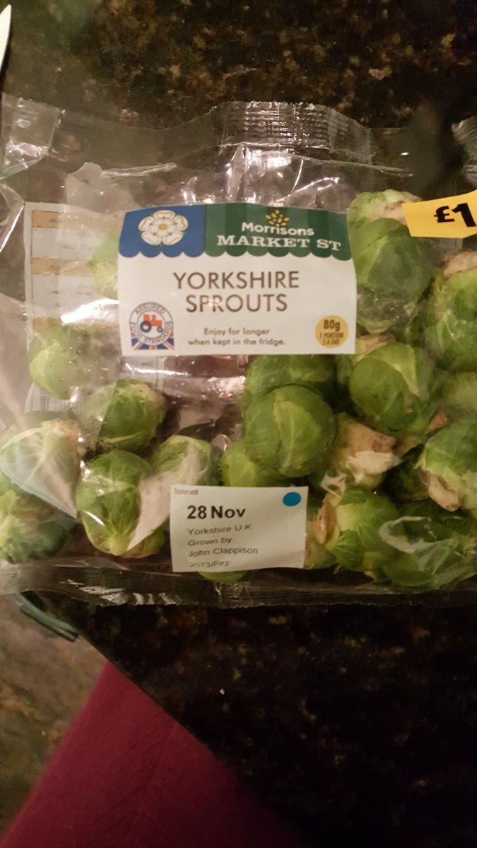 Amazing. Even sprouts from Morrison's have turned their back on Brussels. Are these Conservative sprouts? Give us back our Brussels Sprouts! <br>http://pic.twitter.com/CoJgdCpB5q