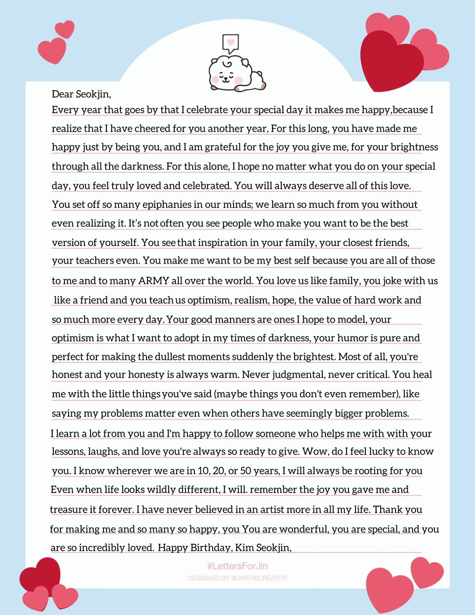 he said 'come be my teacher' but really, he truly has always been mine. i love and learn so much from you, happy birthday 김석진 ❤️ #LettersForJin #HappyJinDay #HappyBirthdayJin #JinDay #JinOurDecemberStar #JinOurHappiness #OurFlowerofDecember #TonightAndAlwaysWithJin