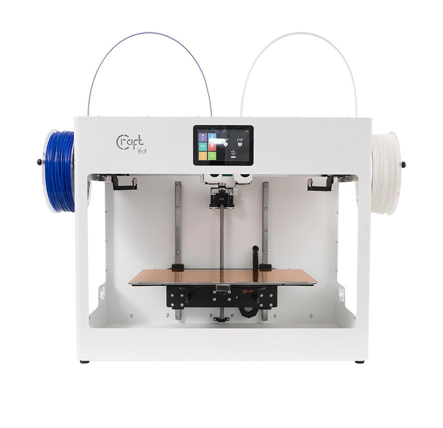 Ab sofort in unserem Shop: #CraftUnique @CraftBot #IDEX #DualExtruder #3DDrucker versandkostenfrei für nur 3.628,31 €