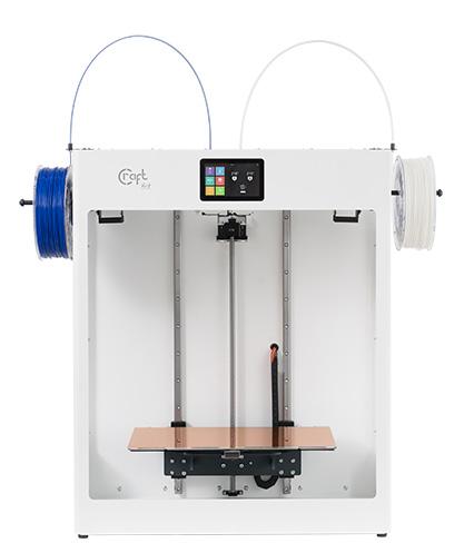 Und jetzt wird's richtig groß, denn ab sofort ist bei uns der #CraftUnique @CraftBot #Flow #IDEX #XL #DualExtruder #3DDrucker versandkostenfrei für nur 4.342,31 € (inkl. MwSt.) erhältlich!