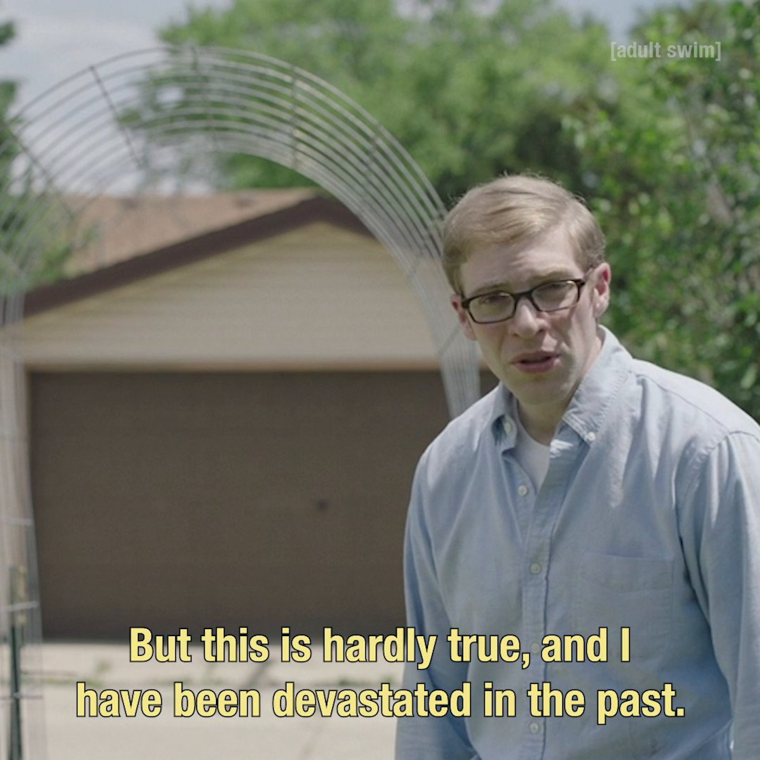 Joe Pera Dismantles Trite Words of Encouragement #JoePeraTalksWithYou   @JosephPera Talks With You Season 2 begins this Friday at midnight on #adultswim.