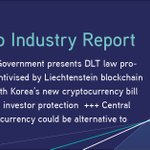 Image for the Tweet beginning: This week in our #CryptoIndustryReport: