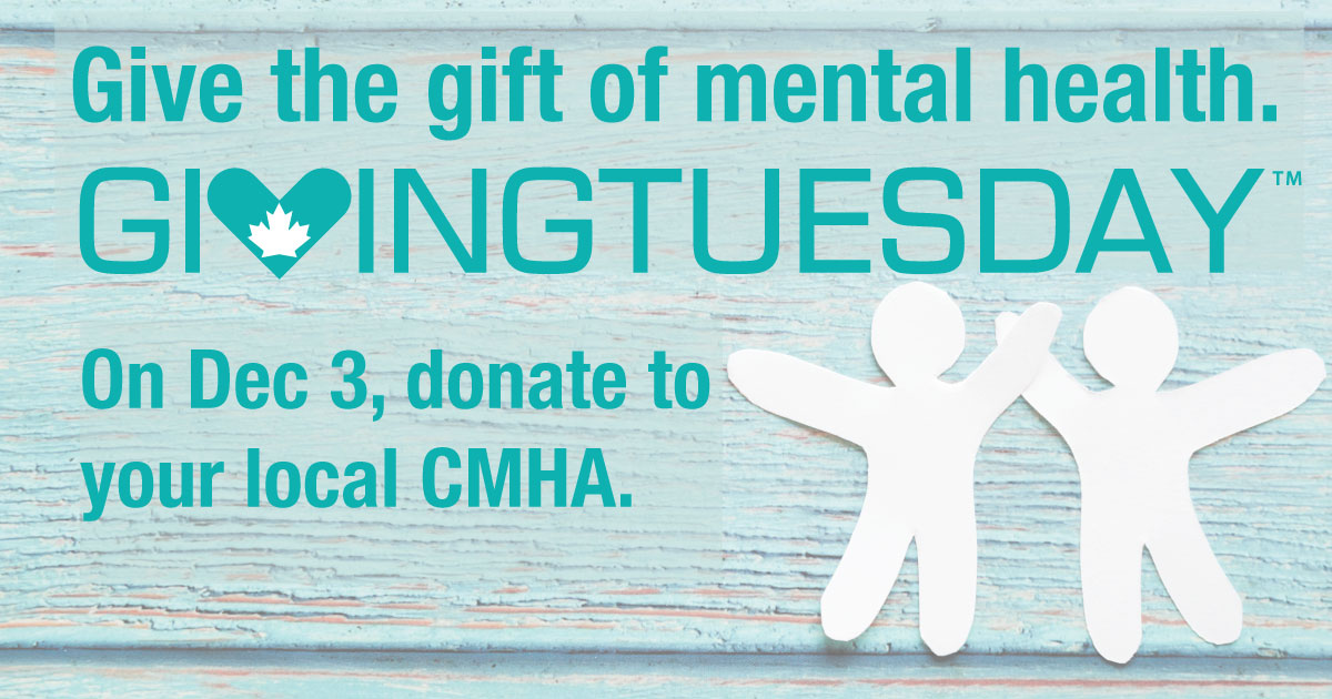test Twitter Media - Do Good Stuff for #GivingTuesdayCA by supporting #mentalhealth! Donate or volunteer at CMHA-WECB: https://t.co/Wd4Ycih21n @GivingTuesdayCa https://t.co/Or2ArSdZ90