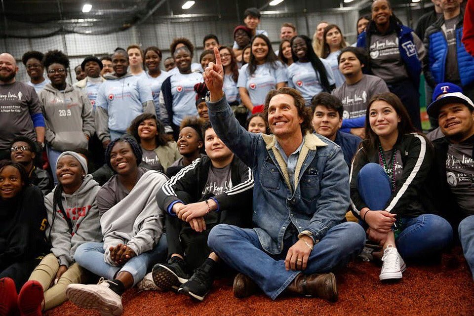 RT @McConaughey: j's for just, k's for keep #givingtuesday #jklivin https://t.co/c2xb7zeeS2