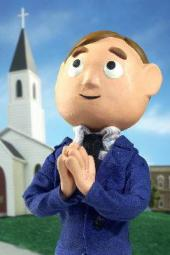 Moral Orel is praying to help #SaveLodge49 #JoinLodge49 #Lodge49Forever #Lodge49 ♥️🍋🍋🍩☕🌊🦈🍺♥️