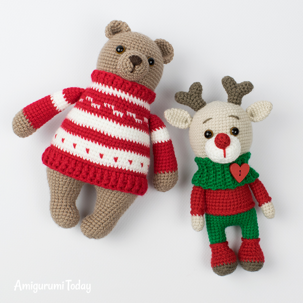 Bears Archives - Amigurumi Today | 1000x1000