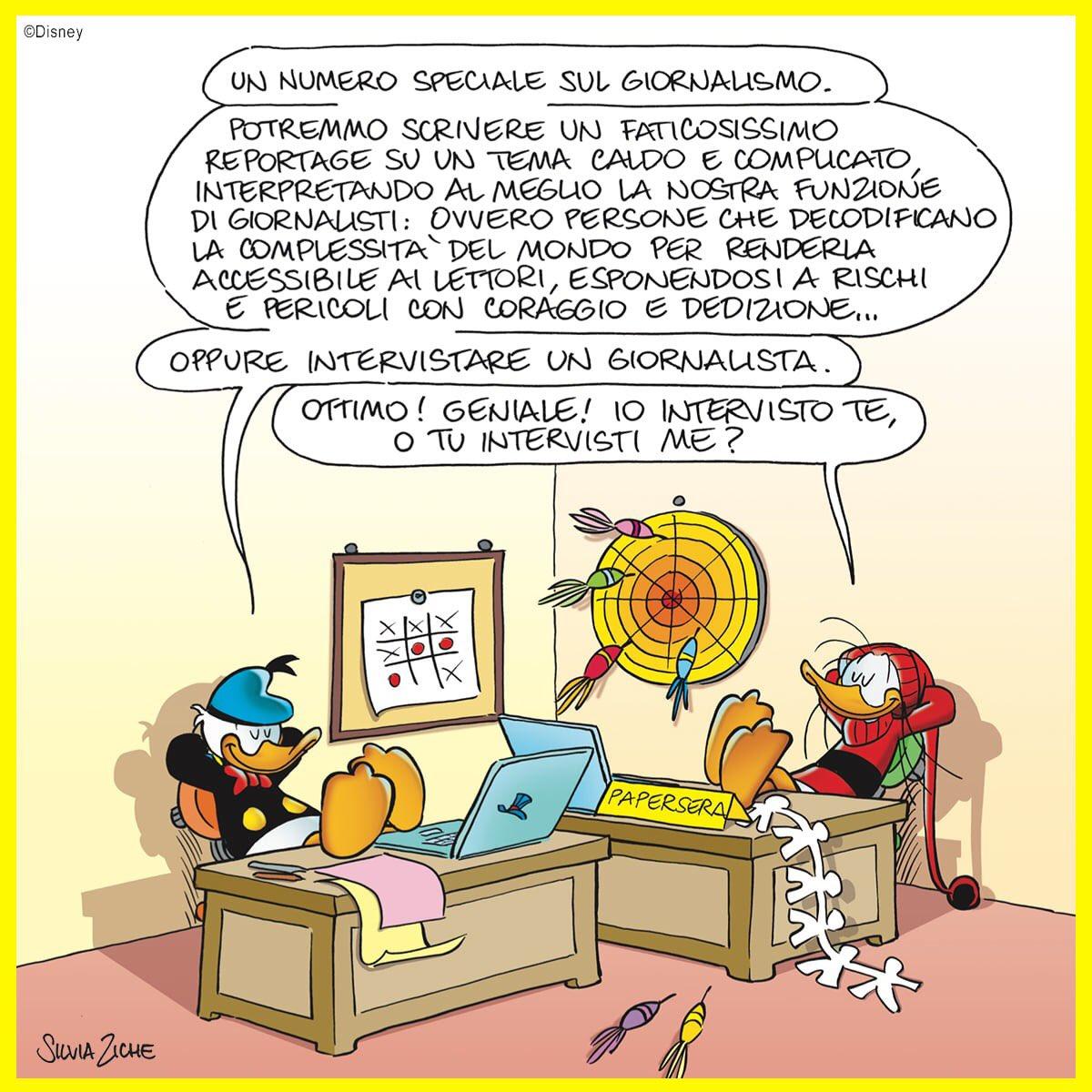 RT @TopolinoIT: Che Aria Tira a... Paperopoli!   #TopolinoMagazine https://t.co/WTHuqaBI2Y