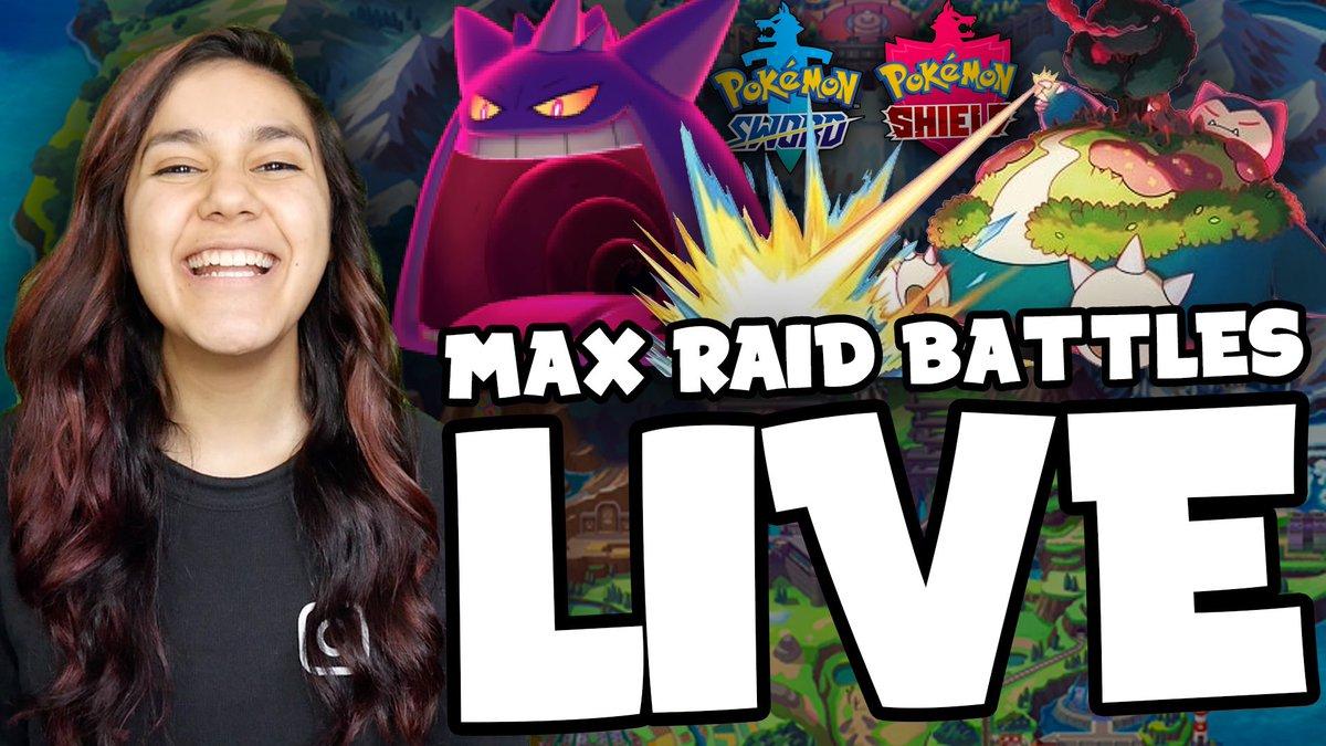 We're doing #PokemonSwordShield Max Raid Battles LIVE tonight on YouTube! 10pm EST 😄