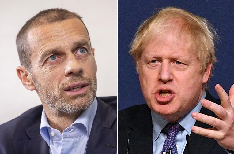 "Mirror Football on Twitter: ""Boris Johnson accused of fuelling racism by  UEFA president Aleksander Ceferin https://t.co/JEFNXeXm9H… """