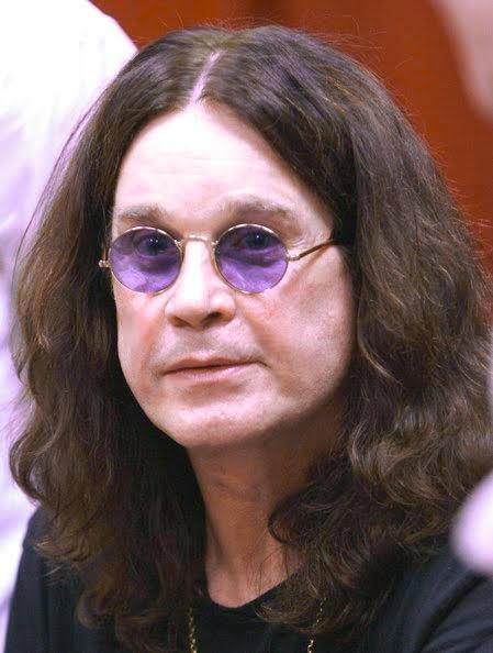 HAPPY BIRTHDAY OZZY OSBOURNE of Black Sabbath