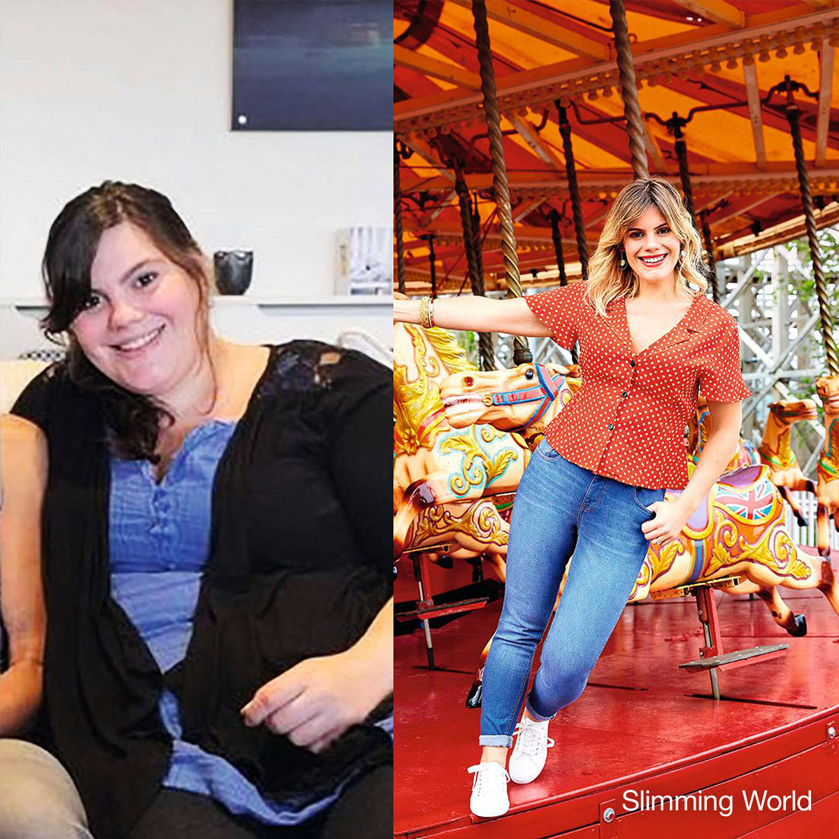 Nicola lost an amazing 7st at her #SlimmingWorld group ! She's now loving being a healthier mum and is enjoying life in a way she never thought she could . Read her inspirational #WeightLoss story:  http:// ow.ly/89C050xqo9Y     #TransformationTuesday <br>http://pic.twitter.com/kDXLyYbBkh