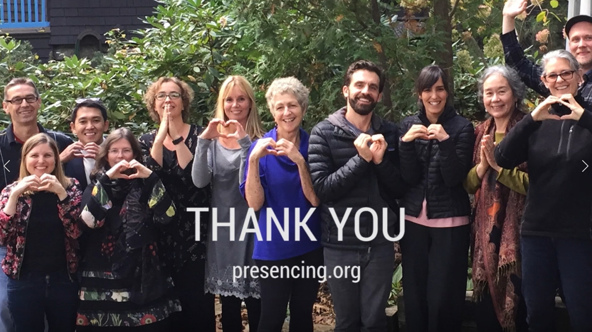 The Presencing Institute would not exist without individual donations, grants, and program revenues. Your donation directly contributes to our awareness-based systems work towards profound societal renewal. #payitforward at secure.qgiv.com/for/give