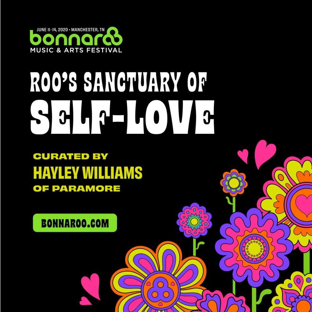 hayley's taking the Sanctuary of Self-Love back to @Bonnaroo next summer! more info: https://t.co/L2N6fmvyd3 https://t.co/y5V5QarWoJ