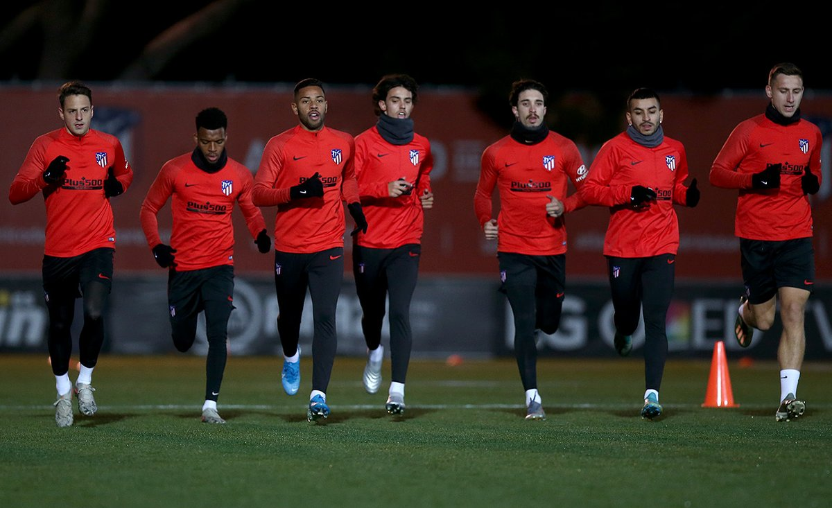 [] Evening session to kick off preparations for the clash   @Eng_Villarreal   http://ow.ly/yFOE30pYHiV   #VillarrealAtleti   #AúpaAtleti