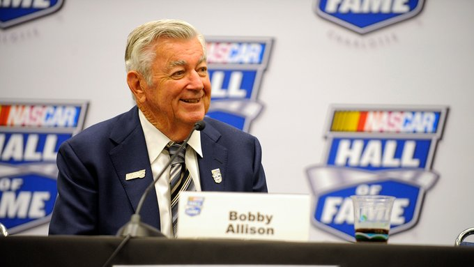 to wish 1983 Cup Series Champion, Bobby Allison a happy birthday!