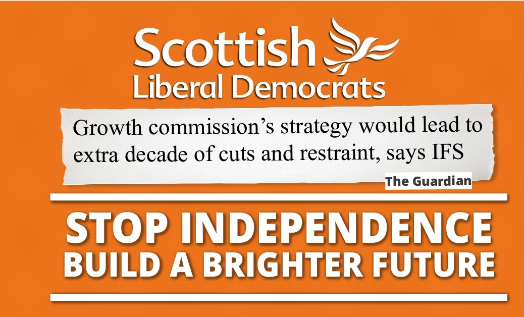 SNP did admit in the growth commission that thered be a decade of spending restraint #stvdebate
