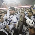 Image for the Tweet beginning: Congratulations to the @IHSA_IL Football