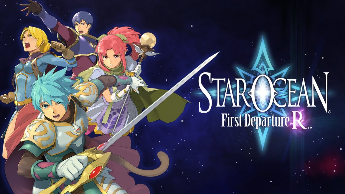 Launching today! The groundbreaking first entry in the #StarOcean series triumphantly returns! Reunite with beloved allies and friends, hone a vast array of weapons and skills, and change the future for a sea of stars. PS4: sqex.link/SOFDRPS4 Switch: sqex.link/SOFDRNSW