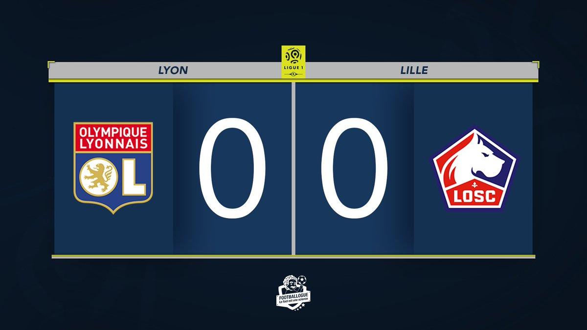 [#L1🇫🇷] LYON 0-0 LILLE ⏱ MI-TEMPS ! #OLLOSC