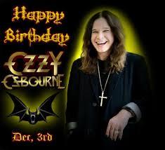 Happy Birthday to the man, the myth, the legend... Ozzy Osbourne  Fave album? Go!