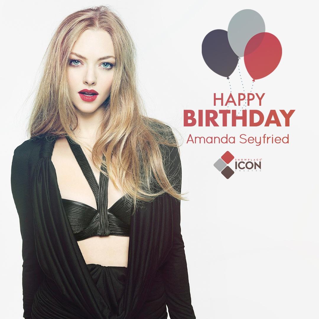 Karen can you tell it\s raining? Happy birthday, Amanda Seyfried! Tickets: