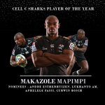 Image for the Tweet beginning: Player of the Year🏆 #OurSharks