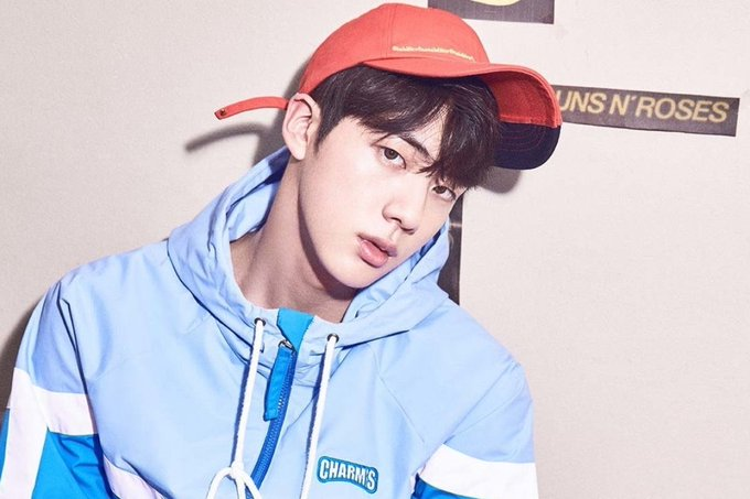 Happy Birthday to Jin from @BTS_twt!! 🎂 #JINDAY