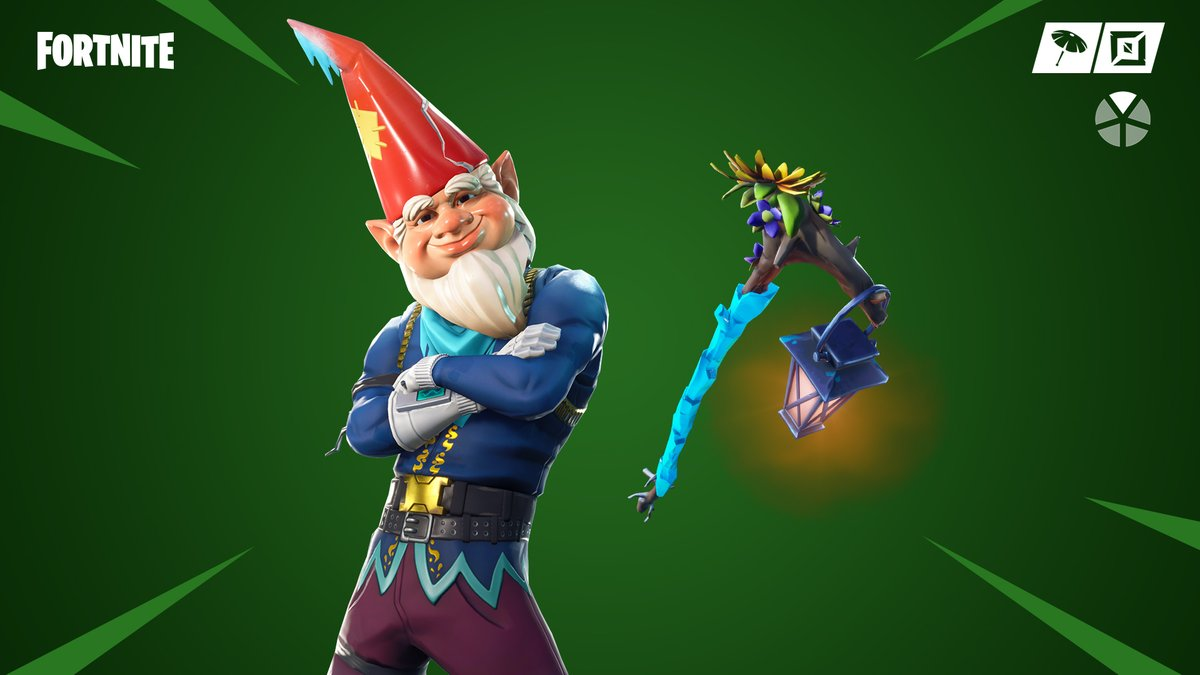 The Gnome is back. The Grimbles Outfit and Cold Snap Pickaxe have returned to the Item Shop!