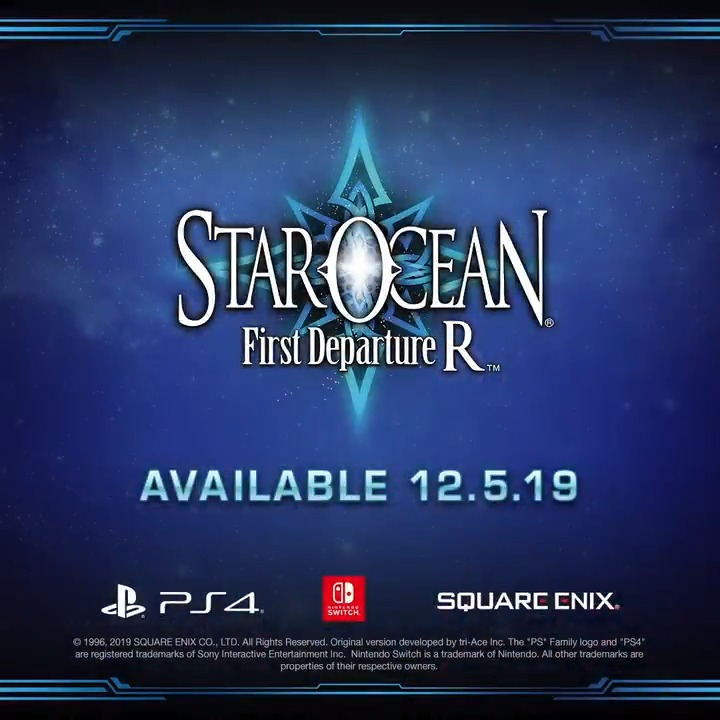 With #StarOcean First Departure R right around the corner, our good friend @BrycePapenbrook has a message for all the fans!