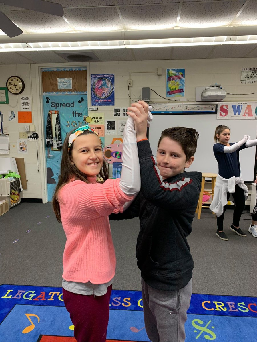 Vivien and Tony are ready to dance this Friday at our Dancing Classrooms Culminating Event at 9am in the auditorium.