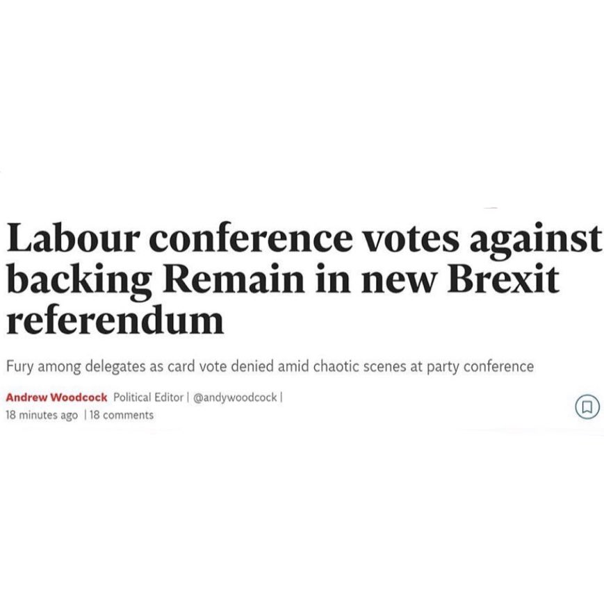 Labour made their position clear months ago.   A vote for Jeremy Corbyn is a vote for Brexit.  Only a vote for @libdems is a vote to #StopBrexit. <br>http://pic.twitter.com/JWXwN8XNPh