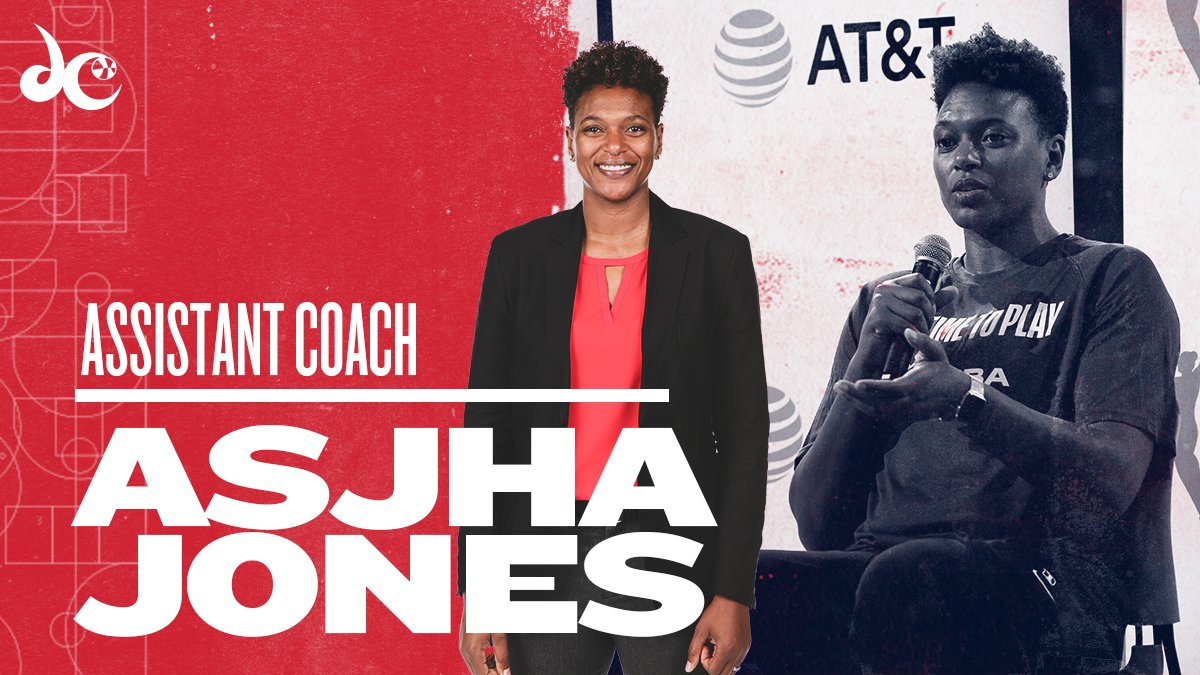 OFFICIAL: @Asjha_J has been promoted to assistant coach.  📰 >> https://t.co/XYdXuHyUDD https://t.co/KmMZTGwUoa