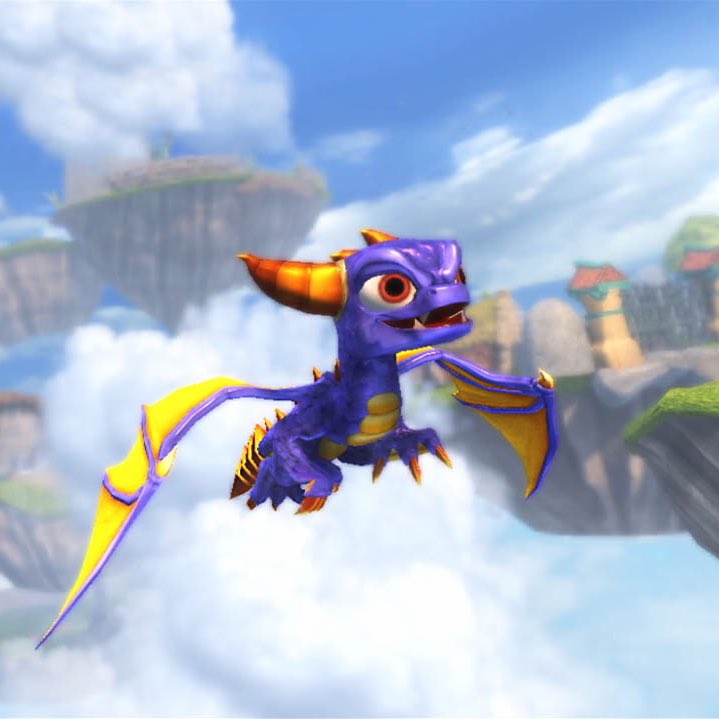 Spyro at the beginning of the decade vs. Spyro at the end of the decade. #Spyro #SpyroTheDragon #DecadeChallenge