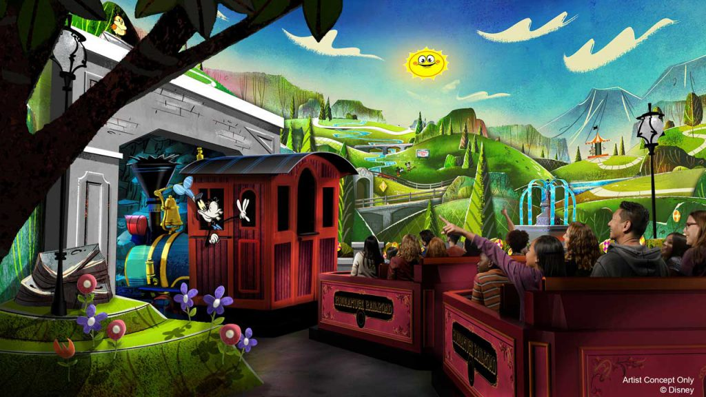 JUST ANNOUNCED: Mickey & Minnie's Runaway Railway is set to open March 4, 2020 at Disney's Hollywood Studios!