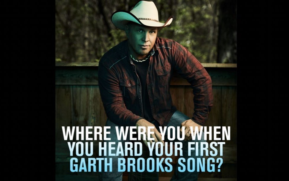 Where were you when you heard your first Garth Brooks song? Hit RT if you are watching Part 2 of #GarthBio tonight at 9pm on A&E ! -Team Garth